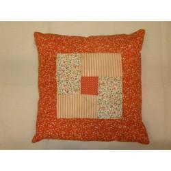 Povlečení na polštářek 45 * 45 cm Bawork - Výrunka - oranžová