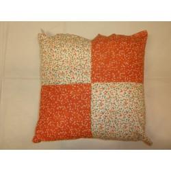 Povlečení na polštářek 45 * 45 Bawork - Šarunka oranžová variace