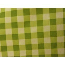 ubrus Kanapes 145*185cm kostky zelené a bílé PES