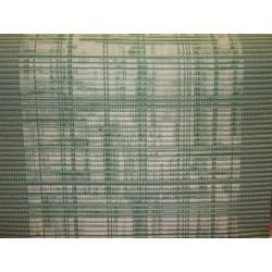 pěnová předložka do koupelny metráž 65cm šíře - zelené čáry