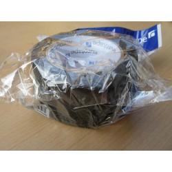 Lemovka na koberce 48mm 10m - jednostranná jednobarevná - černá