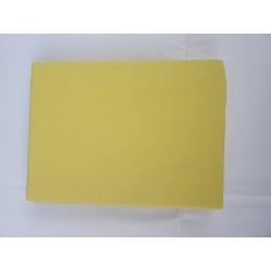 Prostěradlo U Kočky Jersey 90*200 cm žlutá