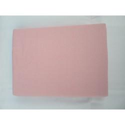Prostěradlo U Kočky Jersey 90*200 cm růžová