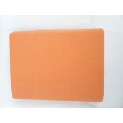 Prostěradlo U Kočky Jersey 90*200 cm oranžová