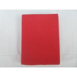 Prostěradlo U Kočky Jersey 90*200 cm červená