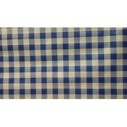 ubrus metráž pogumovaná textilie - 140cm šíře - modré kostky