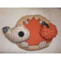 Dětský rozkládací polštářek Baježek kruh o průměru 30 cm