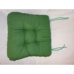 čtvercový sedák s tkaničkami - prošívaný