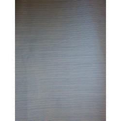 Bavlněná látka - jemné modré proužky