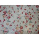 Ubrus metráž pogumovaná textilie 140cm šíře - jemné růžičky
