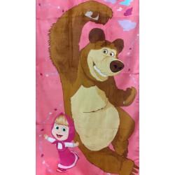 osuška Masha a medved 70*140cm