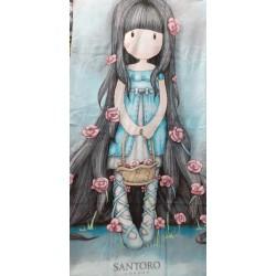 ručník Santoro Ladybird 70*140cm svěle modrá